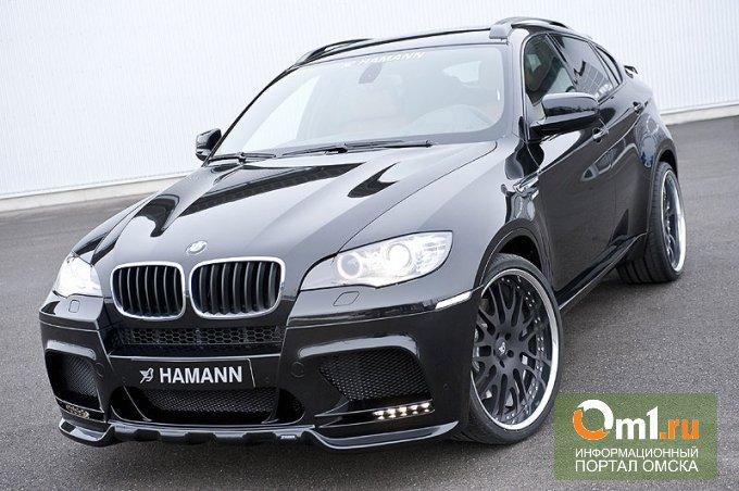 В Омске «заминировали» BMW X5
