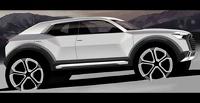 Audi представила тизер кроссовера Q1