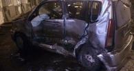 За рулем Lexusа, протаранившего три авто в Омске, была девушка