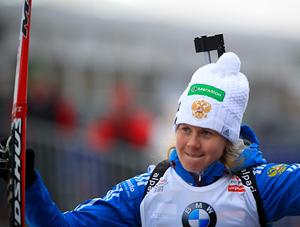 Омичка взяла пятое место на спринте в шестом этапе Кубка мира по биатлону