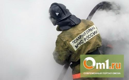 В Омске из горящей пятиэтажки на Космическом эвакуировали 70 человек