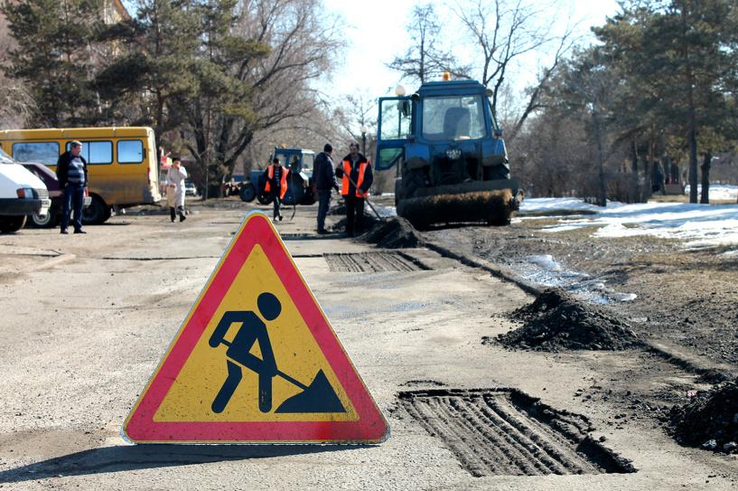 На технику для 18 ремонтируемых улиц Омска потратят 7 млн рублей