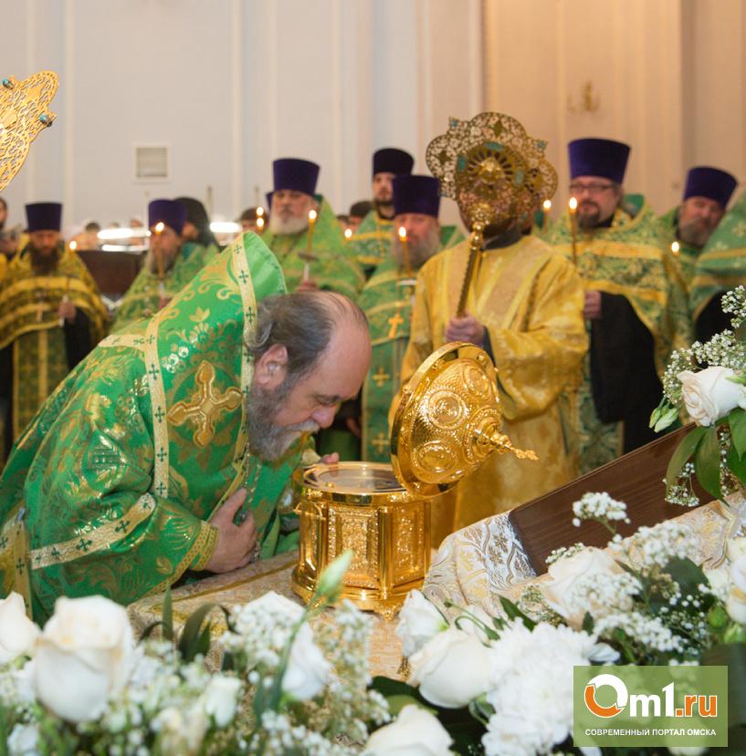 Мощи Матроны Московской снова привезут в Омск в будущем году