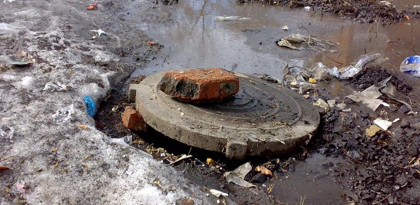 «Росводоканал Омск» сообщает: городская система канализации перегружена паводковыми водами