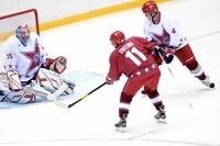 Звезды российского хоккея проиграли Владимиру Путину