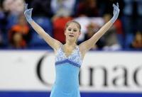 Липницкая заняла третье место по итогам короткой программы на чемпионате мира