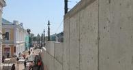 «Берлинская стена» в Омске останется, но ее конструкцию готовы изменить