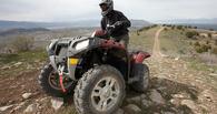 В Омске на день ВДВ водитель квадроцикла потерял пассажира