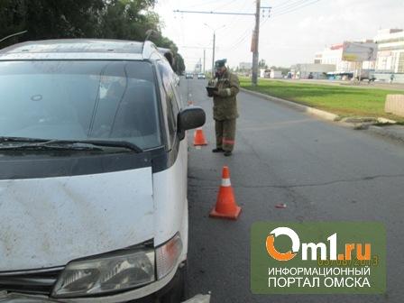В Омске у Автовокзала столкнулись авто: пострадал годовалый малыш и пешеход