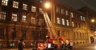 В Омске пять человек спасли из горящего дома
