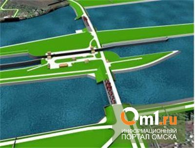 В Омске продолжают строить Красногорский гидроузел