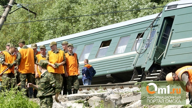 В Краснодаре сошел с рельс поезд с омичами: 76 пострадавших