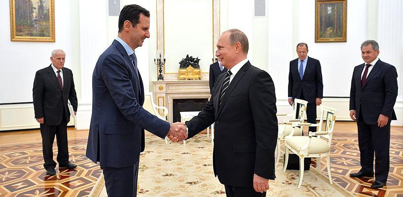 Financial Times: Владимир Путин попросил Башара Асада уйти в отставку