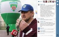 Кадыров по громкой связи на стадионе назвал судью «козлом»