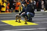 В России прошел международный фестиваль роботов
