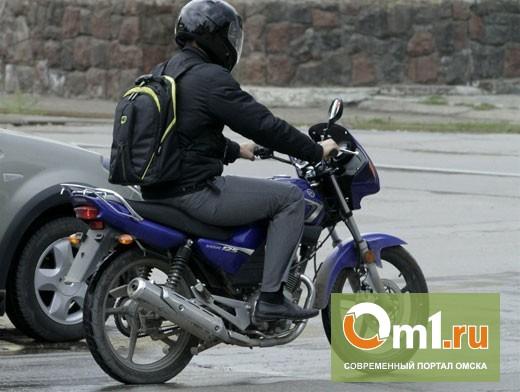 В Омской области подросток без прав сбил на мотоцикле девушку-пешехода