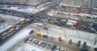 В центре Омска снова не работают светофоры