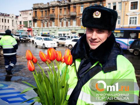 Сельским автоледи вместо протокола за нарушение вручили цветы