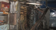 Неэксплуатируемый цех бывшего завода «Омск-Полимер» горел в Омске
