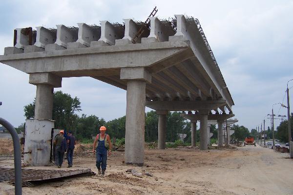 Двораковский дал старт строительству транспортной развязки на 15-й Рабочей