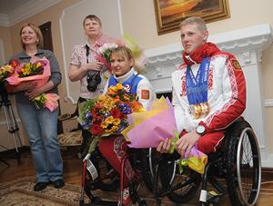 Омские паралимпийцы вернулись домой
