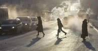 Из-за морозов в Омске образуются серьезные пробки