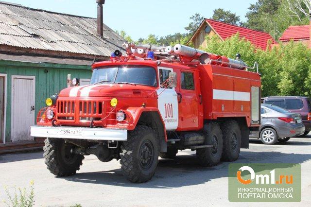 В Омской области на пожаре погибла семейная пара