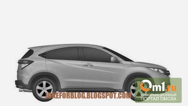 В сети появились патентные изображения нового компактного кроссовера Honda