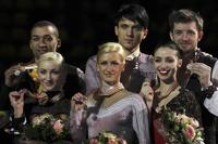 Российская пара фигуристов взяла «золото» Чемпионата Европы
