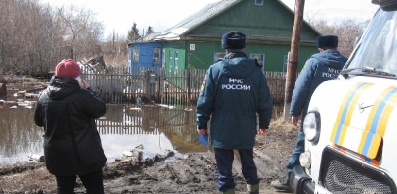 В Омской области оказались подтоплены 50 жилых домов