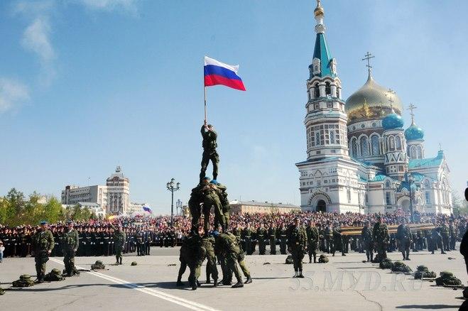 В Омске начинается подготовка ко Дню Победы