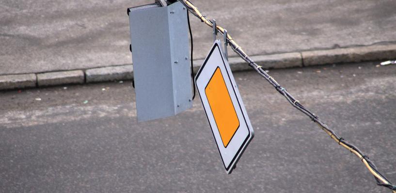 У «Арены Омск» из-за многочисленных ДТП поменяли дорожные знаки (схема движения)