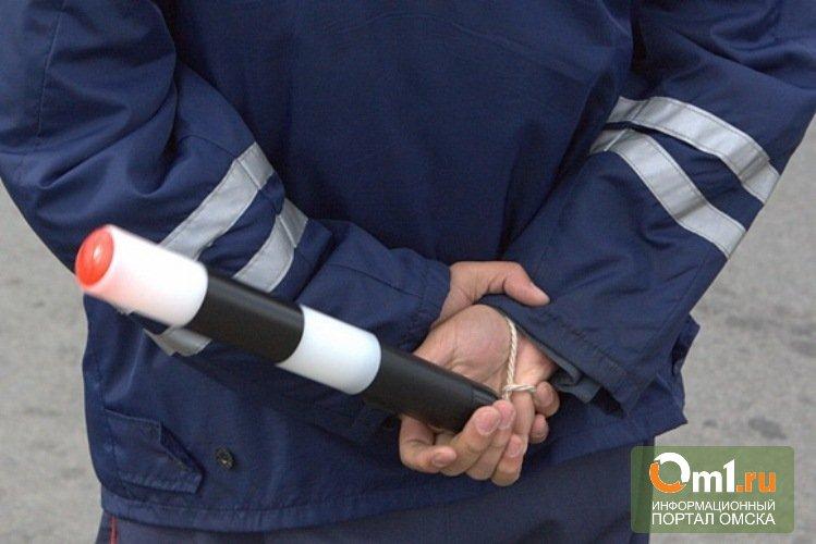 На трассе «Омск-Тюмень» пьяный водитель прокатил полицейского на капоте