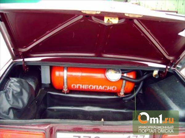 В Омской области у здания суда чуть не взорвался газ