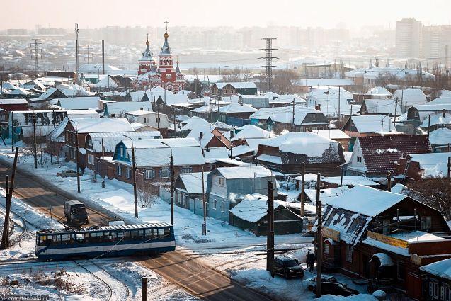 Фото зимнего Омска попало на обложку французской газеты