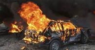 На трассе Омск-Тара горела «девятка» без водителя