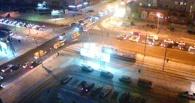 Обзор ситуации на дорогах: ДТП на Богдана Хмельницкого
