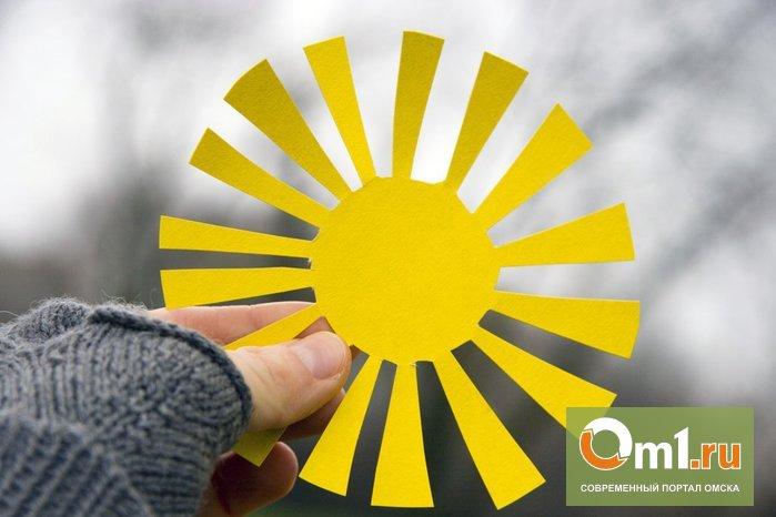 Синоптики обещают, что снег в Омске кончится к выходным