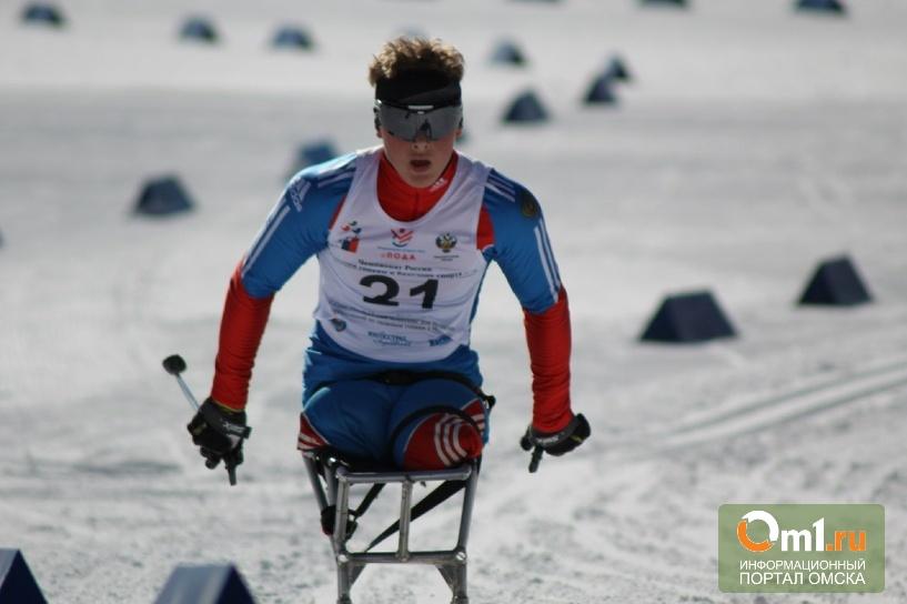 Лыжник из Омска взял четыре медали на Чемпионате мира среди паралимпийцев
