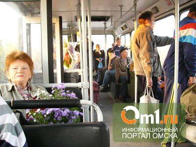 На трассе под Омском иномарка протаранила дачный автобус