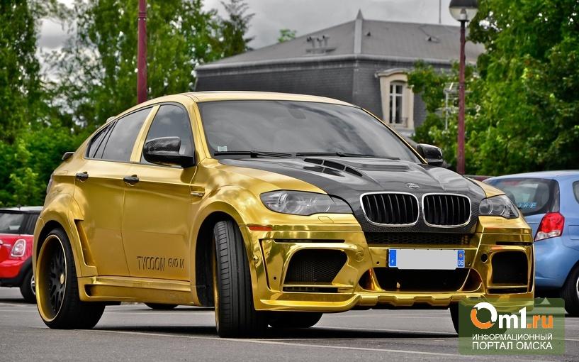 «Золотой» BMW из списка Top-20 авто России выставлен на продажу