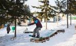 Омские сноубордисты сломали «Балкон», чтобы сделать себе трамплин