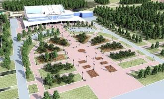 Парк 300-летия Омска пообещали открыть в середине лета