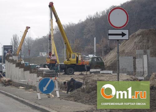 В Омске перестроят развязку на Красноярском тракте