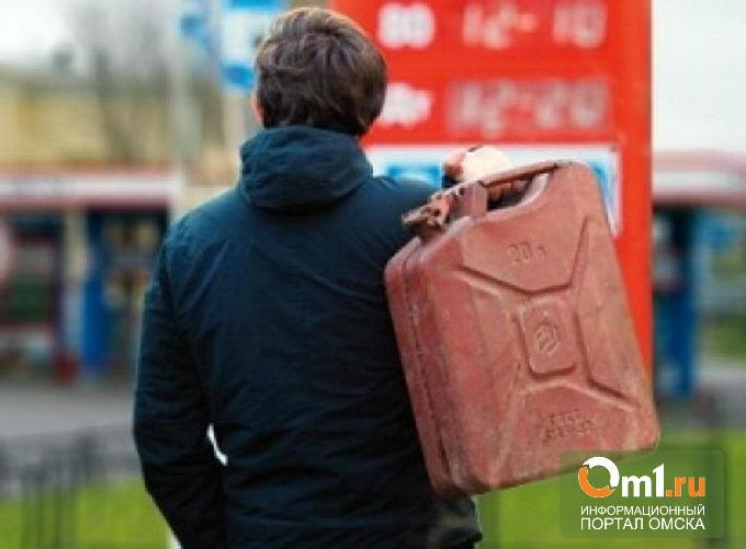 В Омске упали цены на бензин