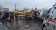 В Омске нашли еще одного виновного в падении башенного крана