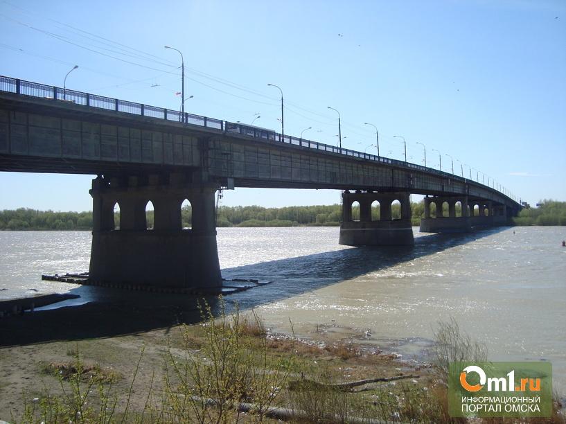 Ремонт дороги на Ленинградском мосту в Омске начнется на этой неделе