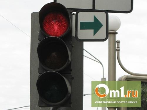 В Омске запретили левый поворот на Кемеровскую с Красного Пути