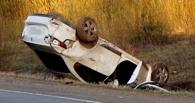Около поселка Светлый перевернулась машина – водитель погиб