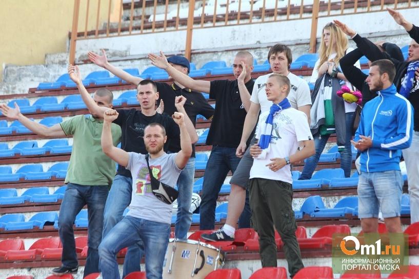 На матчи омского «Иртыша» стало приходить в 3 раза больше болельщиков